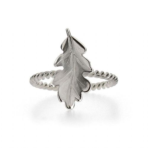 Silver Oakleaf Ring